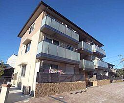 京都府京都市山科区川田中畑町の賃貸アパートの外観