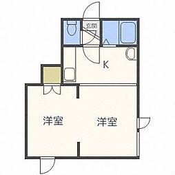 キラメック円山表参道[3階]の間取り