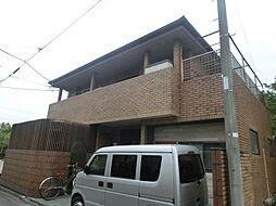 東京都府中市本町4丁目の賃貸アパートの外観
