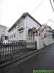 東京都新宿区早稲田南町の賃貸アパートの外観