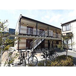 奈良県生駒郡斑鳩町法隆寺南の賃貸アパートの外観