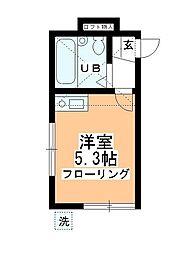 アートパレス川越No,3[105号室]の間取り