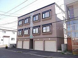北海道札幌市東区東苗穂七条2丁目の賃貸アパートの外観