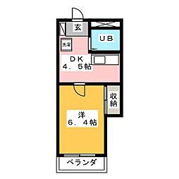 細畑駅 2.3万円
