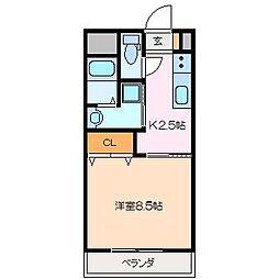 仮)久保田町MマンションA棟[3階]の間取り