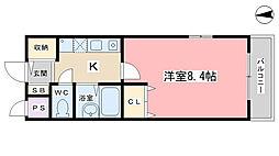 KYOマンション[107号室]の間取り