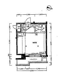 ホーユウパレス根岸II[2階]の間取り