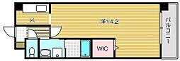 フェリーチェ千里丘[2階]の間取り