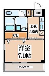 グレースA[2階]の間取り