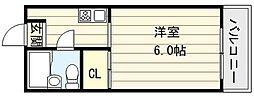 エリア39[6階]の間取り