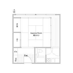 プラザ信州松本[0226号室]の間取り