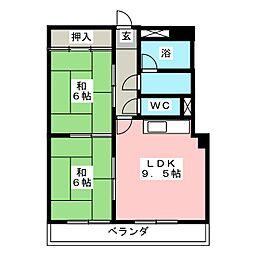 新日半田住吉ビル[3階]の間取り