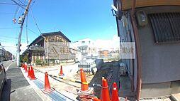 大阪府堺市堺区中三国ヶ丘町5丁の賃貸アパートの外観