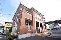 栃木県宇都宮市西川田南1の賃貸アパートの外観