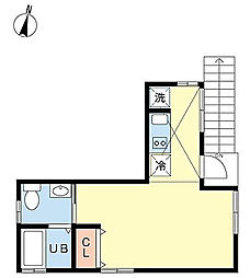 グランエッグス桜新町T[2階]の間取り