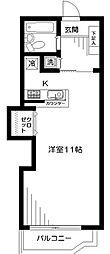 神奈川県横浜市泉区中田北2丁目の賃貸マンションの間取り