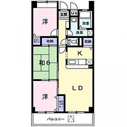 メゾン桜[3階]の間取り