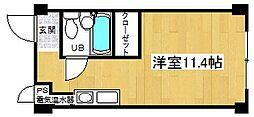 竹田マンション[4階]の間取り