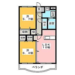 Y&M SOCIE[3階]の間取り