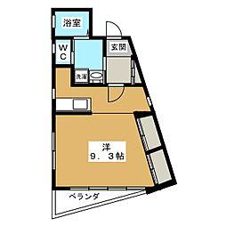 ベラジオ京都東山[3階]の間取り