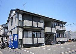 埼玉県川口市伊刈の賃貸アパートの外観