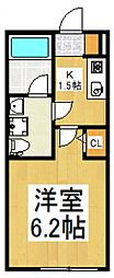 La Luce 東大和[1階]の間取り