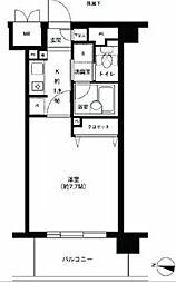 アボリアスコート笹塚EAST棟[3階]の間取り