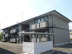栃木県小山市犬塚5の賃貸アパートの外観