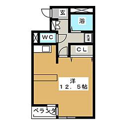 シンフォニー恵[2階]の間取り