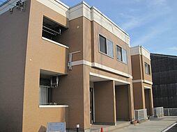 三重県四日市市大字東阿倉川の賃貸アパートの外観