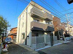 東京都大田区大森北4丁目の賃貸アパートの外観
