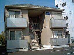 茨城県つくば市春日2丁目の賃貸アパートの外観