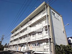 愛知県岡崎市舳越町字本郷の賃貸マンションの外観