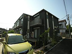 東京都調布市布田3丁目の賃貸アパートの外観