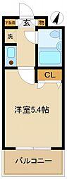 シティーハイム21[2階]の間取り