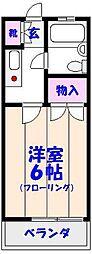 メゾン福栄第2[1階]の間取り