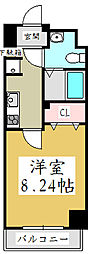 埼玉県川口市飯塚3丁目の賃貸マンションの間取り