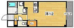 ミピアーチェ[4階]の間取り