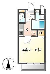 サニーウェル21[3階]の間取り