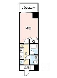 サムティ江坂Vangelo[7階]の間取り