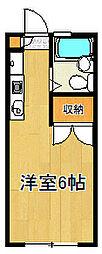 コテージ戸塚[2階]の間取り