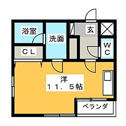 デザイナーズマンション Will[2階]の間取り