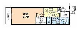 Fuji Palace パルトネールさとの1番館[1階]の間取り
