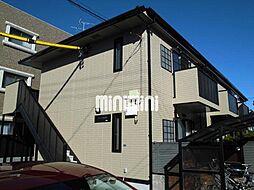 静岡県静岡市駿河区中田1丁目の賃貸アパートの外観