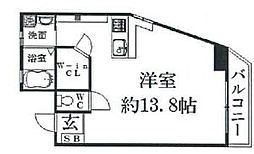 K's Court夙川[206号室]の間取り