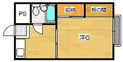 ジュネス美也古パートIII[3階]の間取り