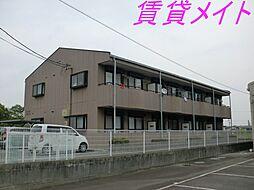 三重県伊勢市大湊町の賃貸アパートの外観