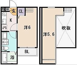 Sarang Mito[2階]の間取り