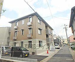 京都府京都市西京区桂木ノ下町の賃貸アパートの外観