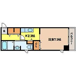 北海道札幌市中央区北一条東1丁目の賃貸マンションの間取り
